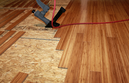 Hardwood flooring installation in the Coeur d'Alene Area